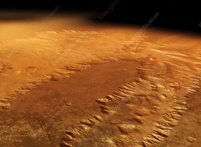 Valles Marineris, Mars