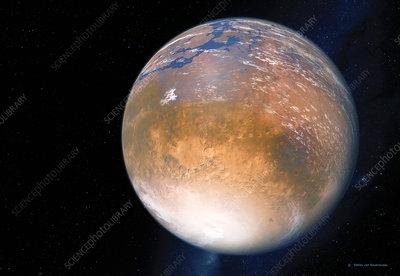 Terraforming Mars, computer artwork