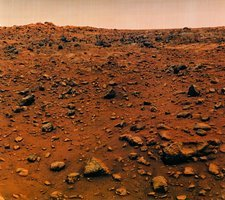 Viking 1 Lander photo of the surface of Mars