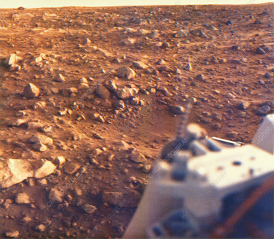 Viking 2 Lander photo of the surface of Mars