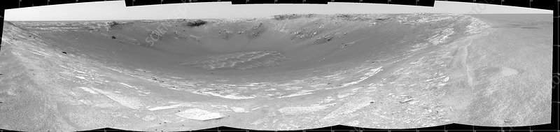 Endurance crater on Mars