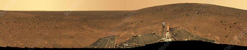 Panorama from Columbia Hills, Mars