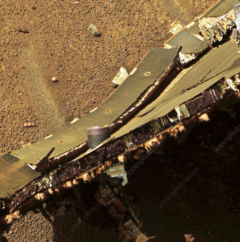 Mars exploration craft heat shield