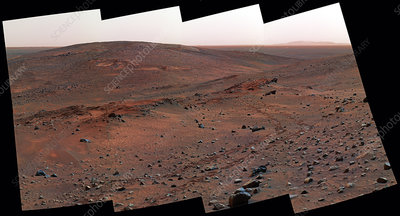 The Columbia Hills, Mars