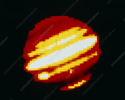 Infrared image of Jupiter