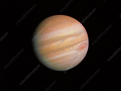 Voyager 1 photo of Jupiter
