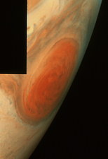 Galileo image of Jupiter's Great Red Spot