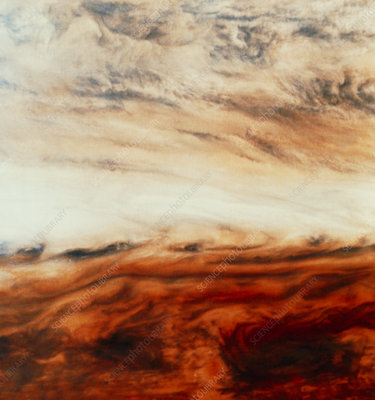 Galileo image of Jupiter's atmosphere