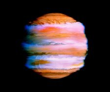 Effect on Jupiter's atmosphere of comet impacts