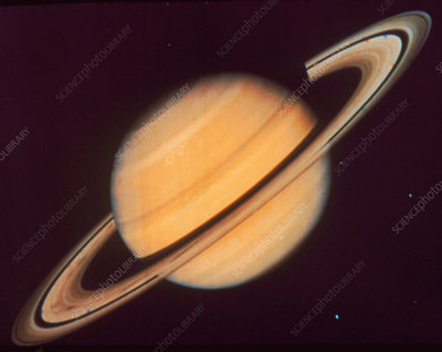 Voyager 2 photo of Saturn