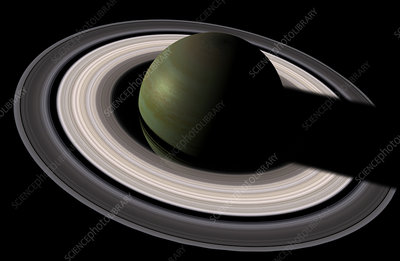 Saturn and its rings
