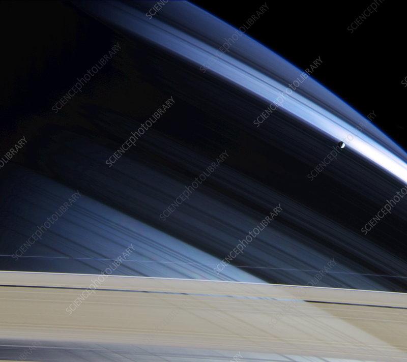 Mimas - Stock Image R400/0089 - Science Photo Library