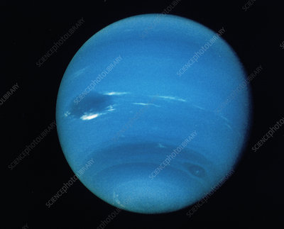 Voyager 2 image of the planet Neptune