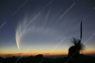 Comet McNaught, 20th January 2007