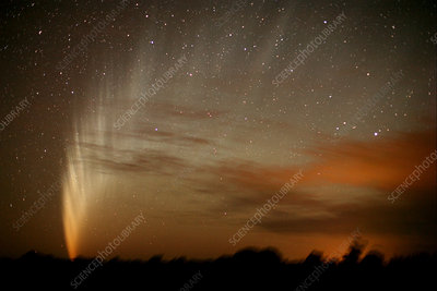 Comet McNaught, 22nd January 2007