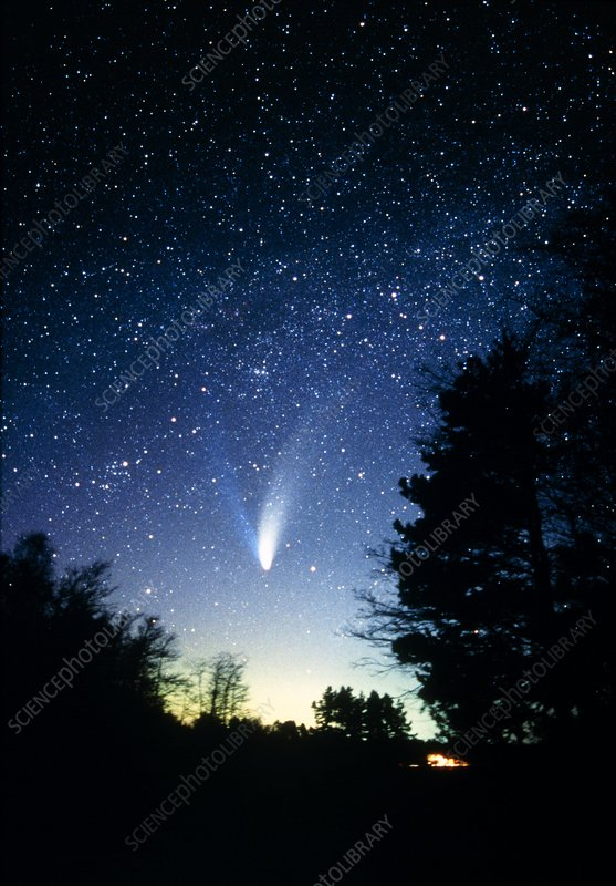 northern lights comet - photo #30