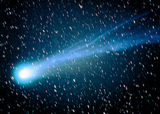 Comet Hyakutake seen on March 21st 1996