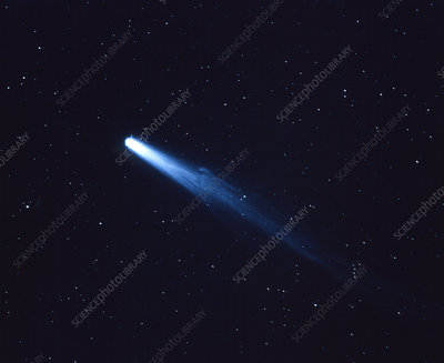Optical photograph of Halley's Comet