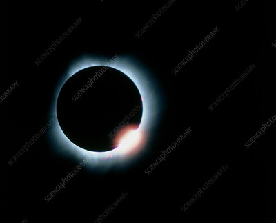 Total solar eclipse, 11 July 1991