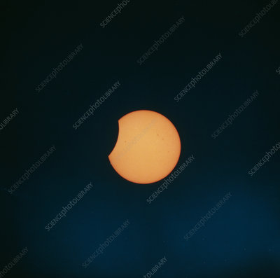 Solar eclipse 11 July 91 before totality