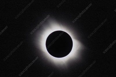 Total solar eclipse, outer corona