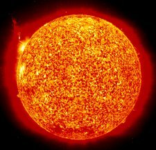 Soho image of the Sun