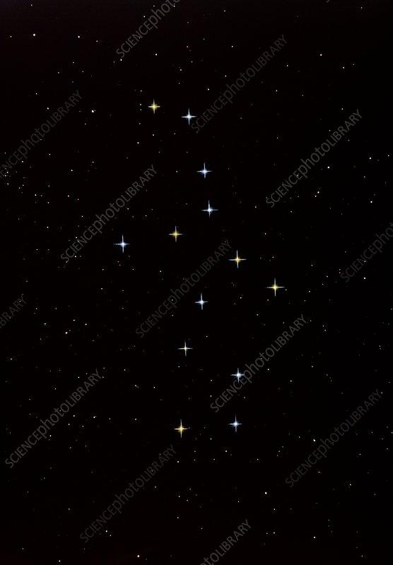 Constellation of Virgo,