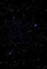 The summer triangle: Cygnus, Lyra and Aquila