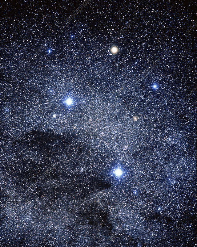 The constellation of the Southern Cross