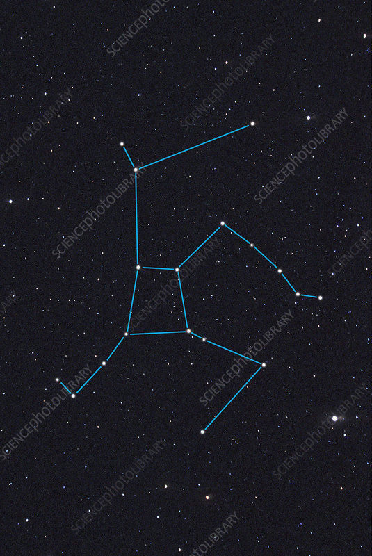 Hercules Constellation Stock Image R550 0553 Science
