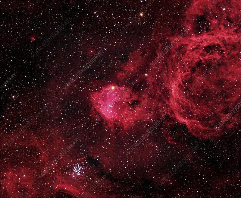 Emission nebula (NGC 3324)
