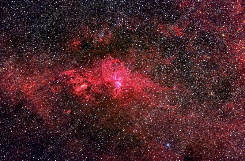 Emission nebula (NGC 3576)