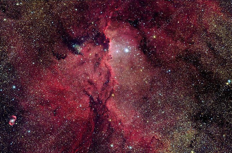 Emission nebula (NGC 6188)