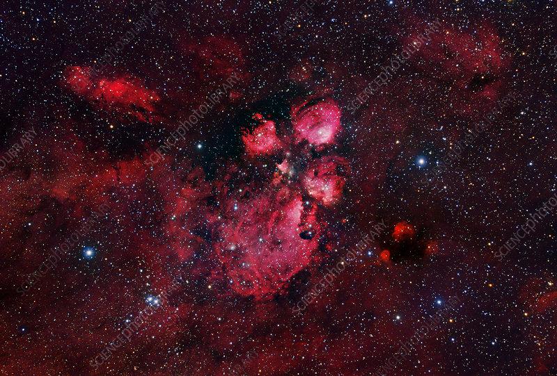 Bear Claw nebula (NGC 6334)