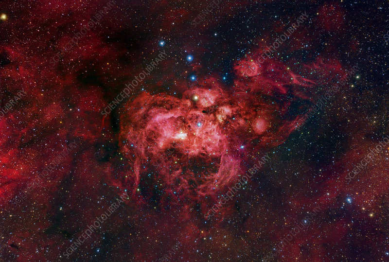 Emission nebula (NGC 6357)