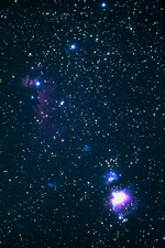 Orion Nebula and Horsehead Nebula