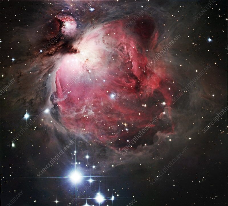 how big is orion nebula - photo #11