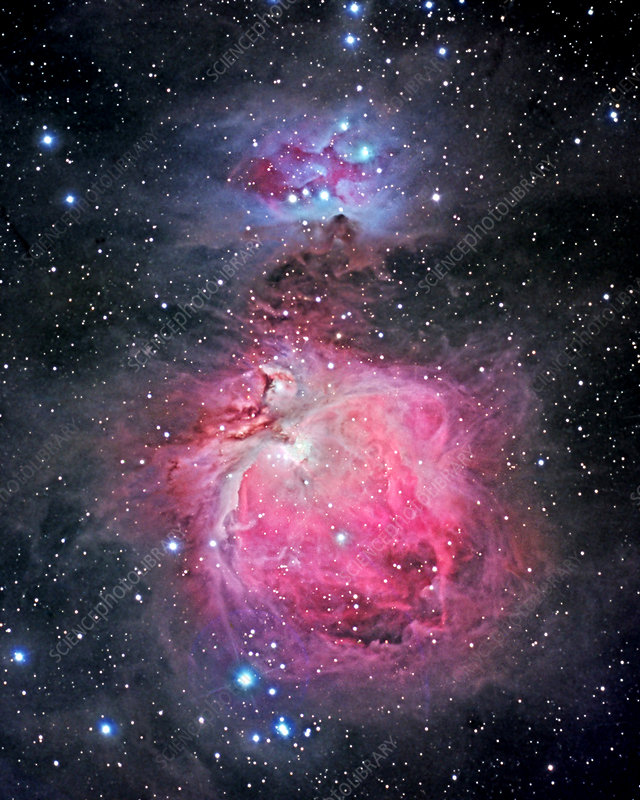The Great Nebula in Orion