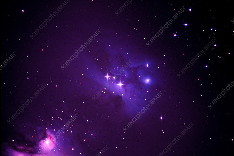 Reflection Nebula in Orion