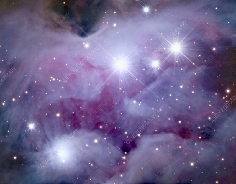 Reflection nebula NGC 1977
