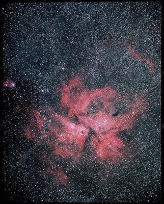 Optical image of Eta Carinae Nebula