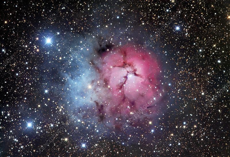 Trifid nebula (M20)