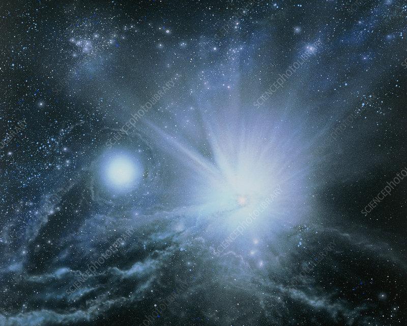 Illustration Embryo Stars