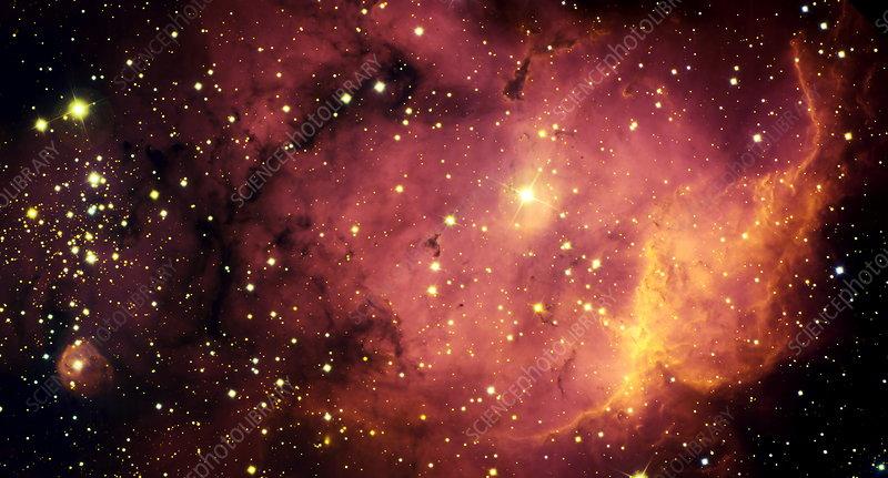 Starbirth region NGC 2467