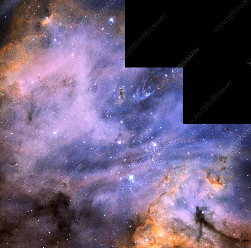 Starbirth region N 180B