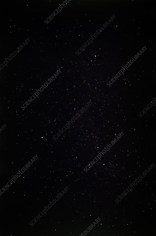 Summer triangle of stars