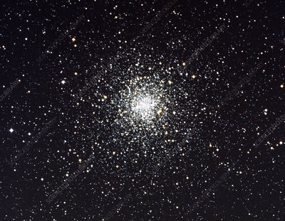 Optical image of the globular star cluster M4