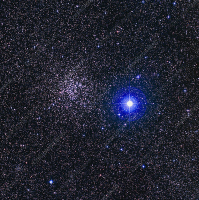 Star cluster NGC 2477