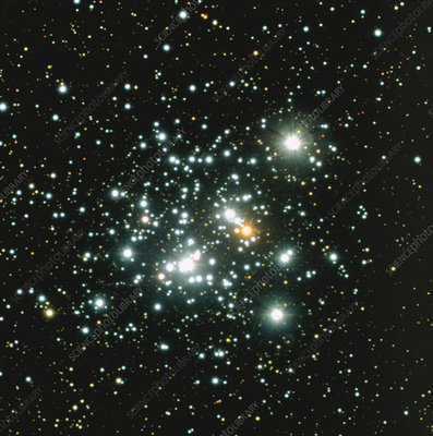 The Jewel Box star cluster, optical image