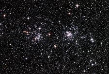 Double cluster in Perseus